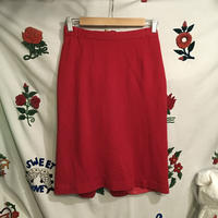 [USED] RED KNIT SKIRT