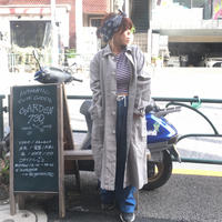 [SELECT] 100% COTTON GRAY Work Coat