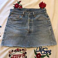 [USED] Levis501 cutoff デニムスカート