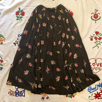 [USED] 花柄 VISCOSE LONG SKIRT💐