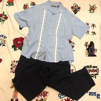 [USED]  RAYON 刺繍 キューバシャツ