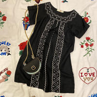 [USED] BLACK刺繍チュニック♡