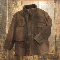 [USED] real suede!!大きめふわふわコート