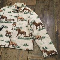 [USED] Horse pattern ゴブラン織りJKT