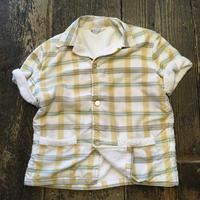 [USED] 70's パイル ビーチシャツ