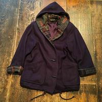[USED] ダッフル風 woolコート