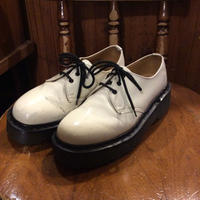 [USED] Dr.Martens  厚底 エナメル 3HOLE  made in England!