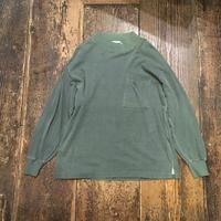 [USED] ポロシャツ素材のLONG Tee
