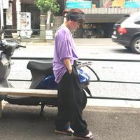 [USED]  Black レーヨン ドレスパンツ