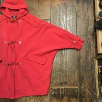 [USED] 真っ赤なドルマンスリーブコート