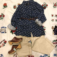 [USED] 90's DOCKERS ペイズリー柄シャツ