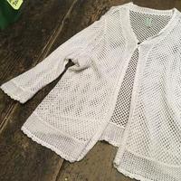 [USED]Cotton Knit ロングカーディガン