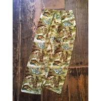 [USED] CAMO風 魚柄 パジャマパンツ