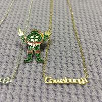 "[Better Jewery × GARDE-Nworks]  cowabunga ! ネックレス"" GOLD"""