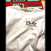 "[USED] コム・デ・ギャルソン ""PLAY"" Tee"