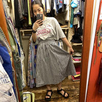 [USED] ギンガムチェック♡スカート
