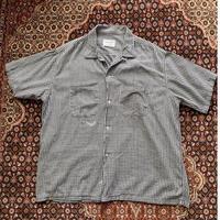 [USED] Vintage Town CRAFT ギンガムチェック半袖シャツ