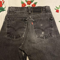 [USED] BLACK! Levi's 550  RELAXED FIT REGULAR  CUT OF