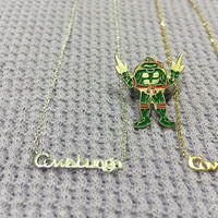 "[Better Jewery × GARDE-Nworks]  cowabunga ! ネックレス"" SILVER"""