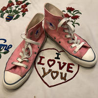 [USED] 80's ALLSTAR Hi(PINK♡)