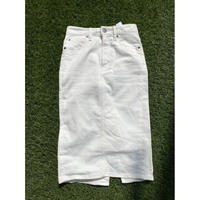 [USED] ホワイトデニム タイトスカート