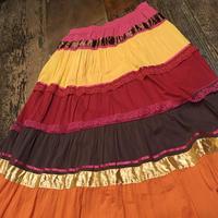 [USED] パッチワークLONGスカート