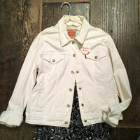 [USED] Levis WHITE Gジャン