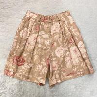[USED] Lauren  花柄LINEN Shorts