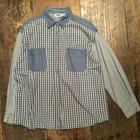[USED] デニムパターンシャツ