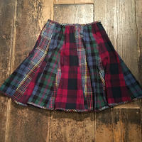 [USED] クレイジーパターン フレアスカート