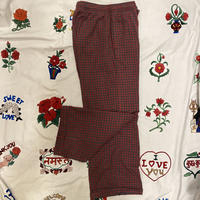 [USED] チェックネルパジャマPANTS♡