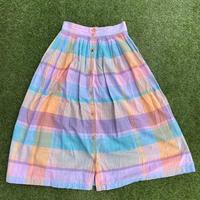 [USED] マドラスCHECK スカート