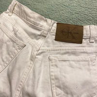 [USED]CK WHITE PANTS!!