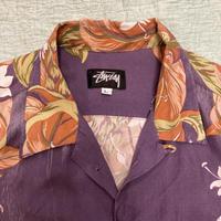 [USED] 80's Vintage STUSSY レーヨン アロハ