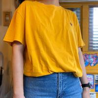 [USED]  POLO RALPH LAUREN  Tee  (yellow)