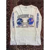 [USED] 80's vintage 袖プリロンtee