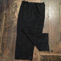 [USED] BLACK LINEN パンツ