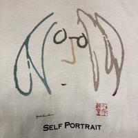 """[USED] vintage JOHN LENON """"SELF PORTRAIT""""  Tee"""