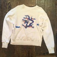 [USED] ドラゴン 刺繍 SWEAT
