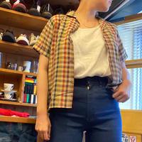 [USED] 60's vintage OPENカラー CHKシャツ
