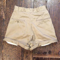[DEAD STOCK] 70's US ARMY チノcut off Shorts