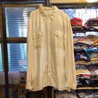 [USED] BIG SIZE シルクシャツ