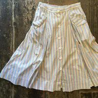 [USED] ストライプ ロングスカート