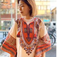 [USED] vintageアフリカン ダシキ シャツ