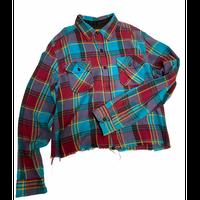 [USED] CUT OFF CUTEネルシャツ