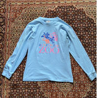 [USED] RUN FOR THE  ZOO プリントロンTee⭐︎