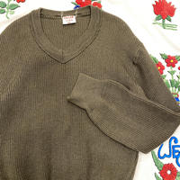 [USED] 80's EURO ARMY KNIT!