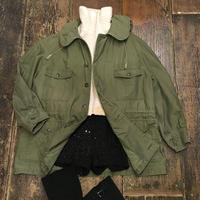 [USED] 60's VINTAGE ARMY 丸襟コート