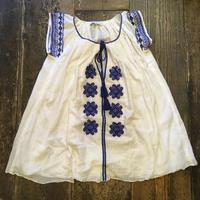 [USED] 刺繍ワンピース