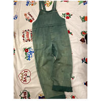 """[USED]  EURO WORK OVERALL """"GREEN"""""""